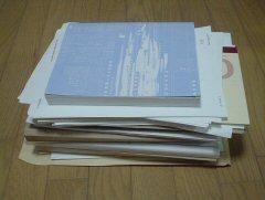 これだけで6kgぐらい、紙は重い